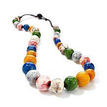 Rara Avis by Iris Apfel Multicolor Bead Necklace