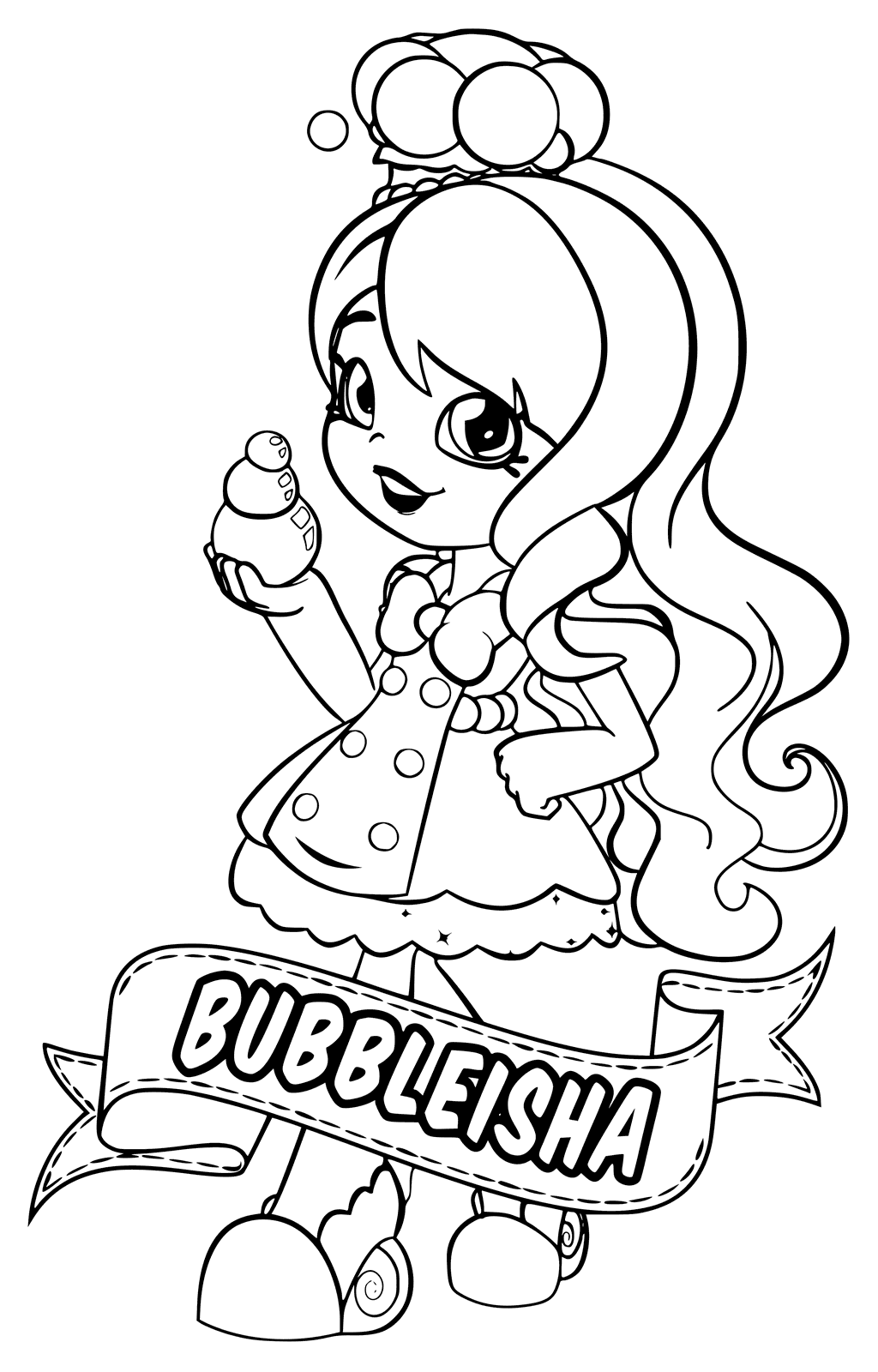 Shopkins World Vacation Coloring Pages You'll Love