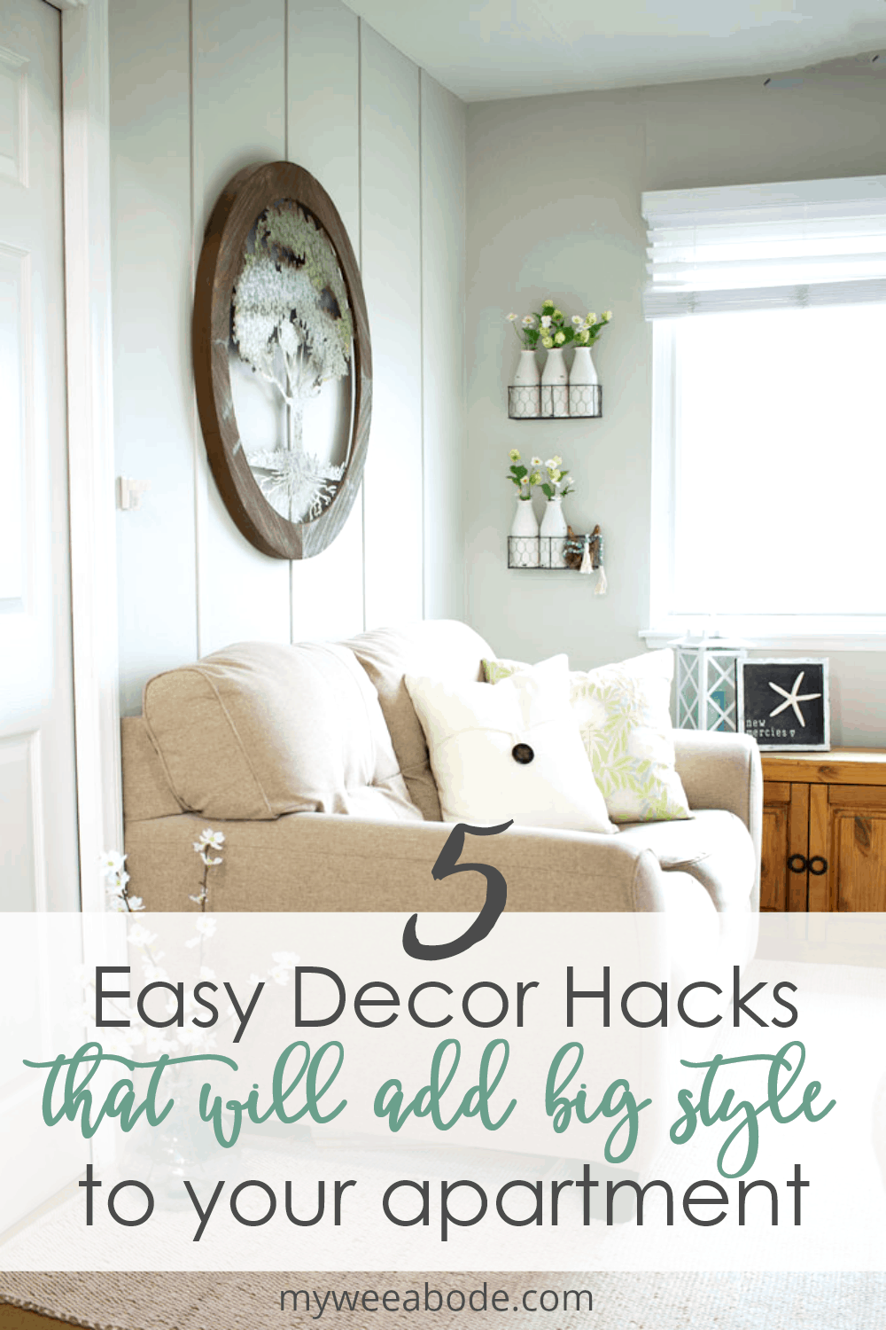 5 Easy Apartment Decor Hacks That Add Big Style In 2020