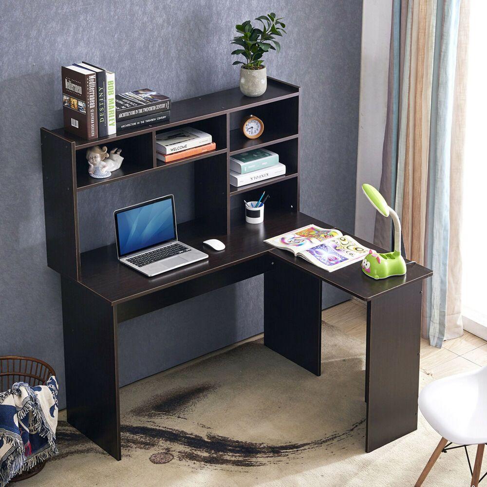 Home Office Workstation L Shaped Desk Corner Desk 7194dk Affilink Desk Desksetup L Shaped Desk Office Workstations Office Organization At Work