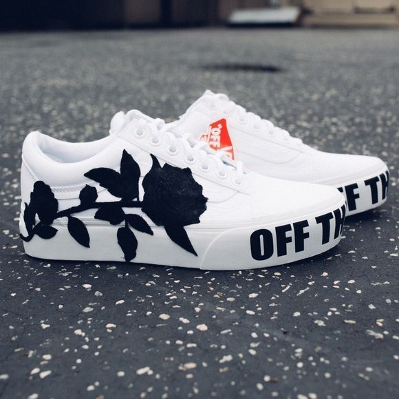 Shop Women's Vans White size 8 5 Platforms at a discounted price at Poshmark  Description NEW vans old skool platform shoes  Size 7 MEN, 8 5 WOMAN, these shoes are customized with 2 iron on patches     is part of Custom vans shoes -