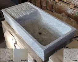 Risultati immagini per lavabo in graniglia di cemento cucina