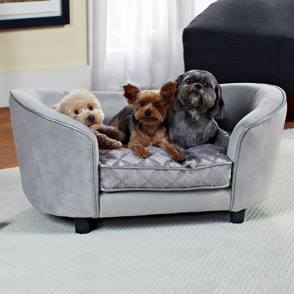 Enchanted Home Pet Quicksilver Pet Bed By Enchanted Home Pet