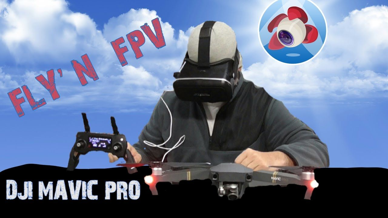 Dji mavic pro flyn fpvvirtual reality with the litchi