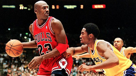 Nba G Mj Bryant Sy 576 Jpg Jpeg Image 576x324 Pixels Michael Jordan Michael Jordan Highlights Kobe Bryant