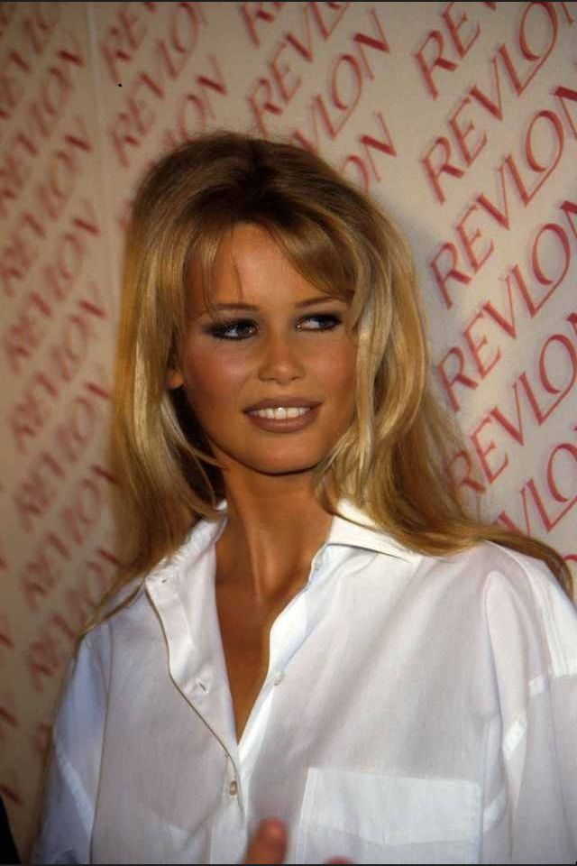 Claudia Tanned Supermodel Hair Claudia Schiffer Model Hair