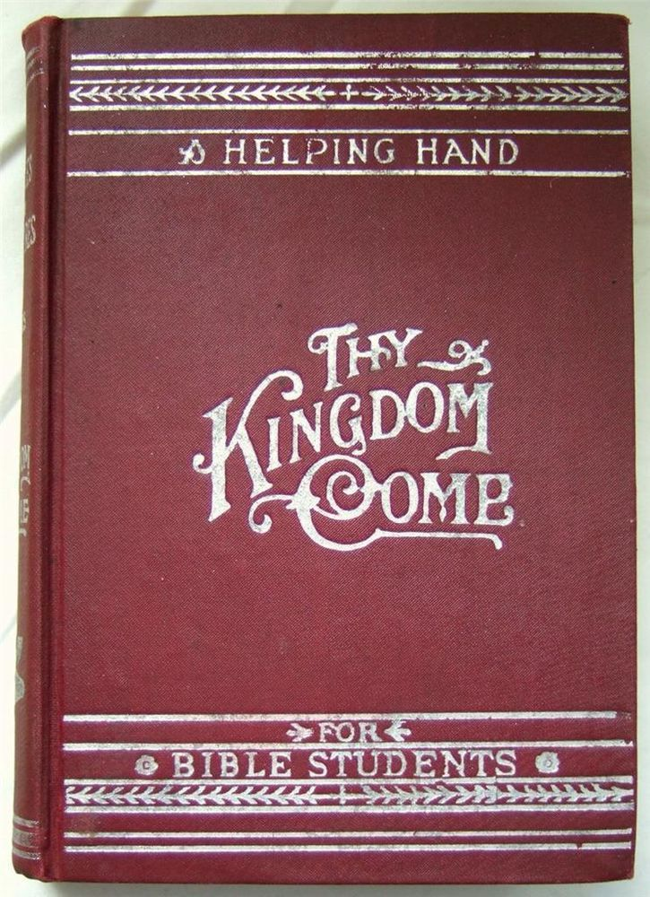 Watchtower Studies 3 Thy Kingdom Come Book On Lamp Edition Ct