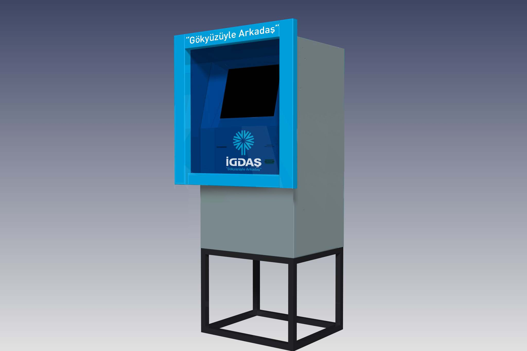 İGDAŞ Top-up Kiosks  An easy top-up solution for customers
