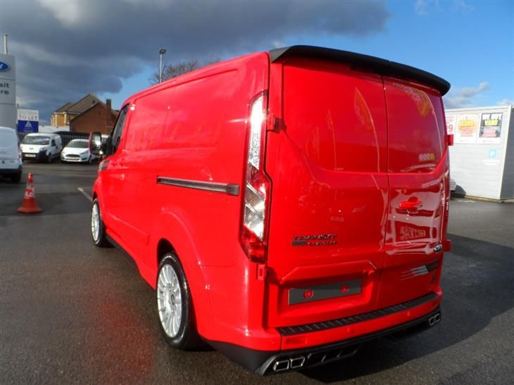 Used 2016 Ford New Transit Custom M Sport 290 L1 2 2 Tdci 155ps In