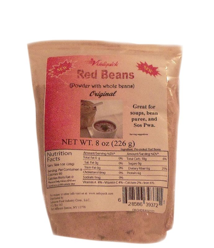 Red #Beans #Powder with Whole beans, (Original) 5 bags at 8oz each