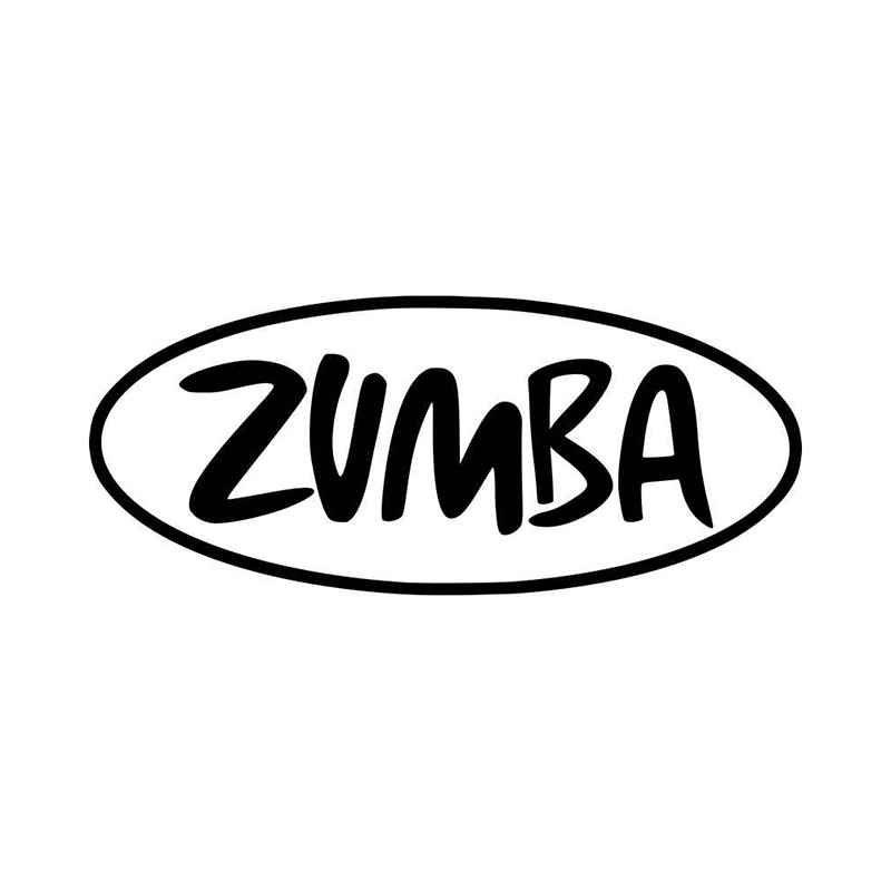 Zumba logo vinyl decal sticker