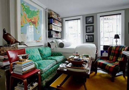 Beautiful 5 Super Efficient Tiny New York Apartments Part 30