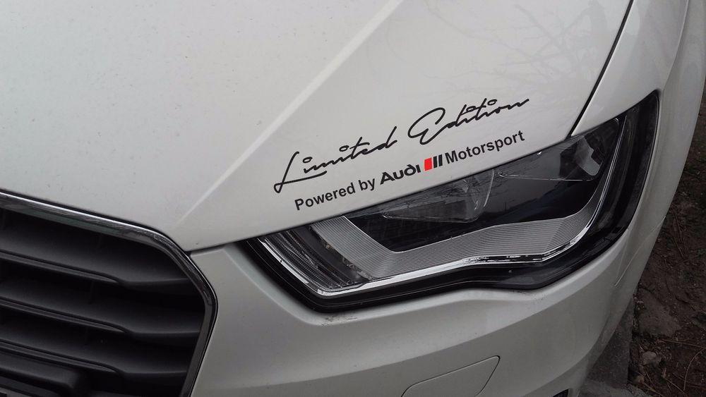 2 x Limited edition Audi Motorsport Decal Sticker