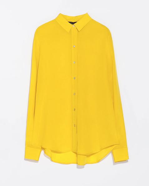 cool yellow shirt.