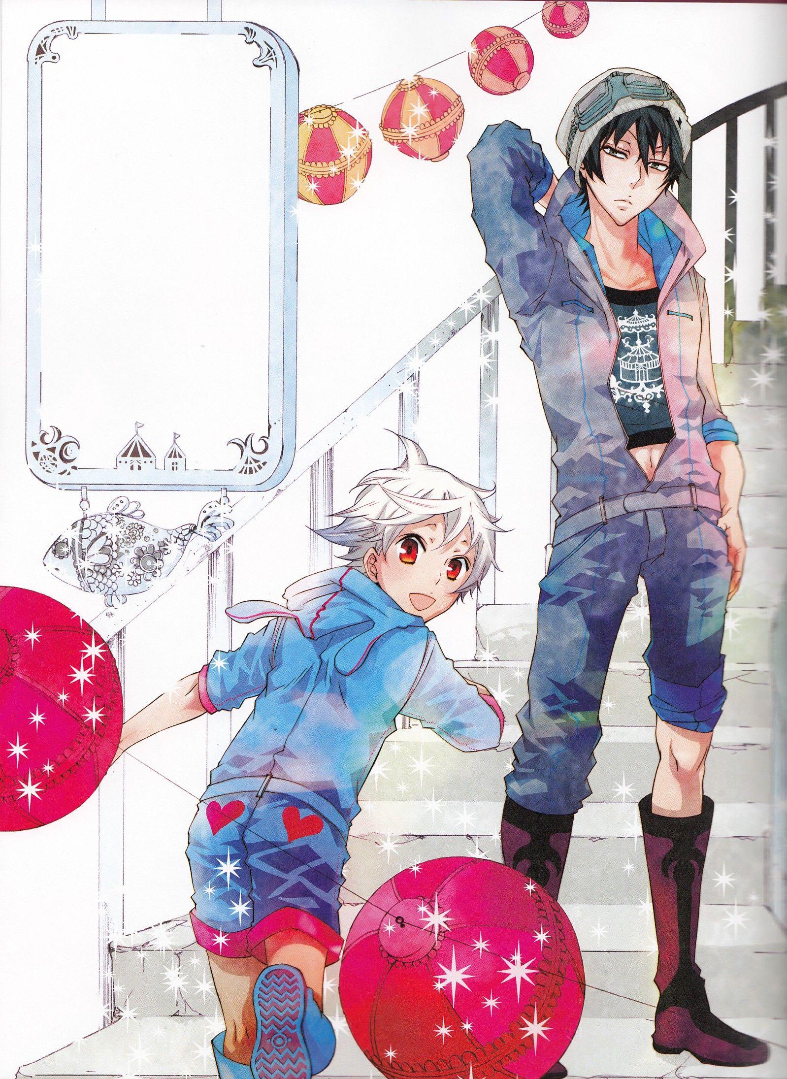 Gareki and Nai, Karneval | Karneval | Karneval manga ...