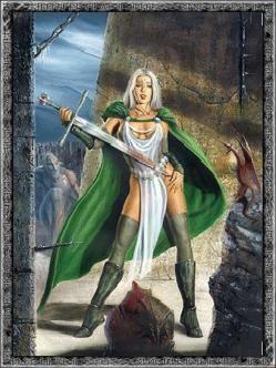 helin la diosa del consuelo encargada de llevarle a frigg todas las