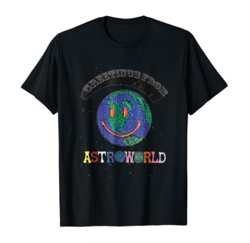 cd7a93a61b75 Super-rare original Astroworld amusement park t-shirt. Get in release of  Travis