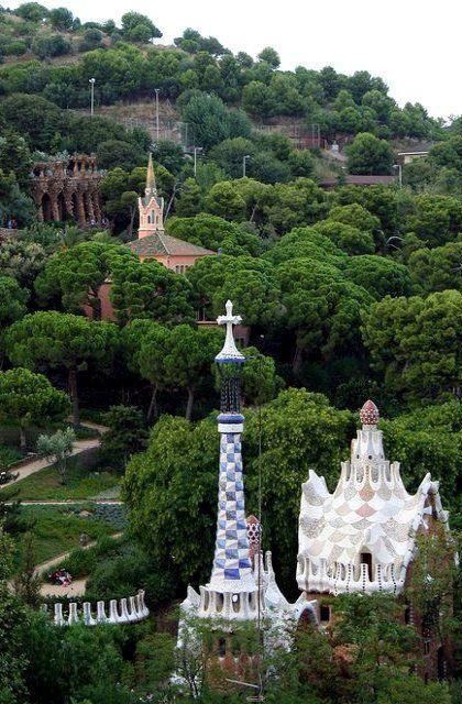 Parc Güell, Barcelona, Spain | Flickr ~~ For more:  - ✯ http://www.pinterest.com/PinFantasy/arq-~-antoni-gaud%C3%AD/