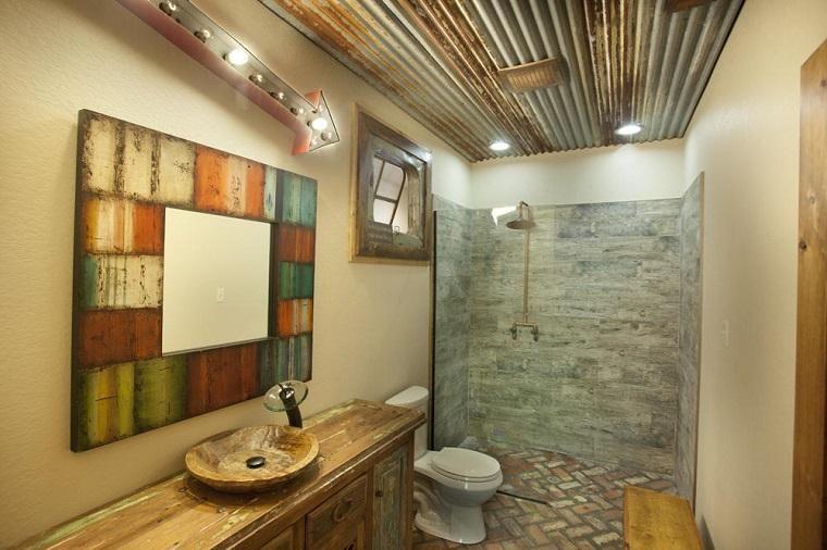 Moderne Badezimmermöbel Im Rustikalen Stil 49 Modelle Bad