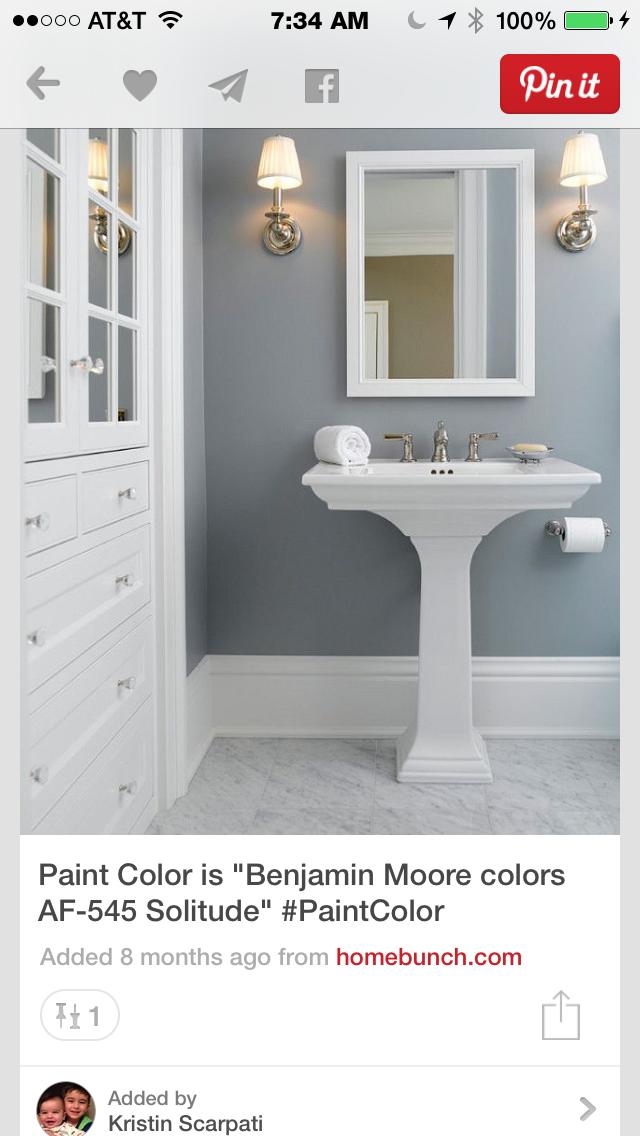 Downstairs Half Bath Choosing Paint Colours Bathroom Paint Colors Home