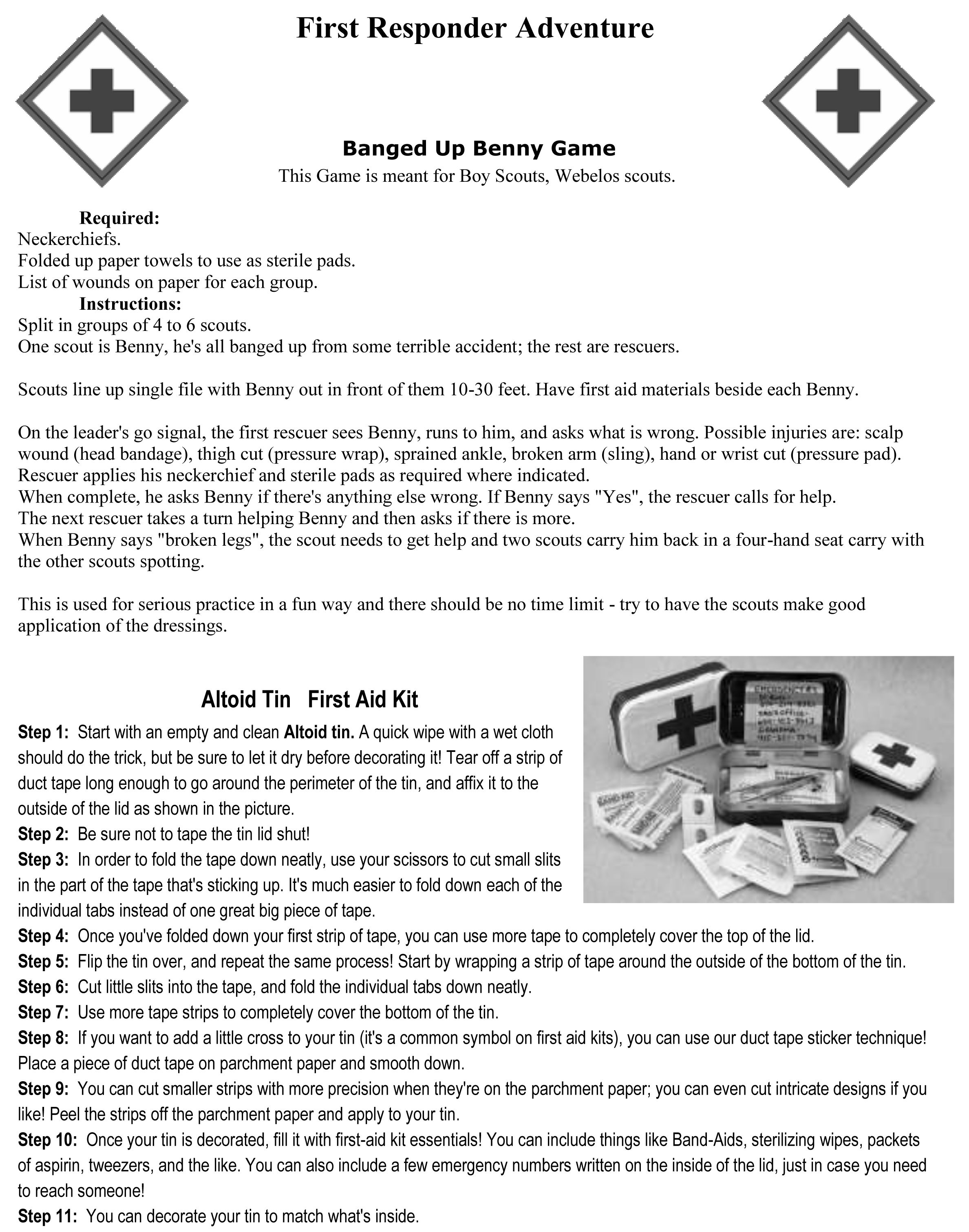 Pin by Two Color Photography on First Responder Activity Badge – Webelos Fitness Badge Worksheet