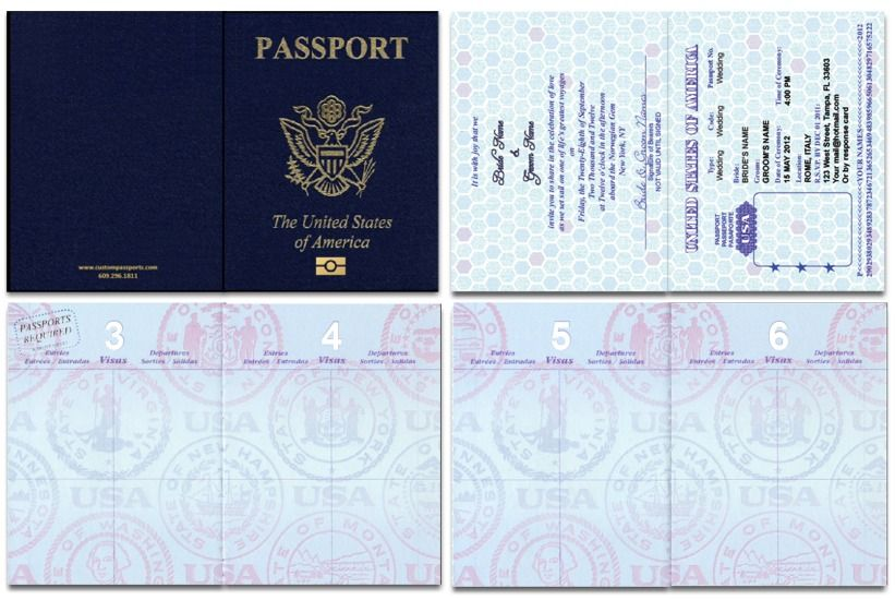 us blank passport template invitation templates education pinterest wedding travel and. Black Bedroom Furniture Sets. Home Design Ideas