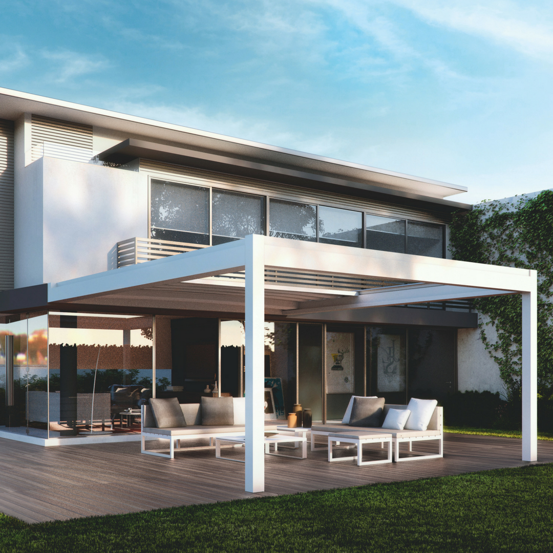Pergola With Retractable Roof Uk