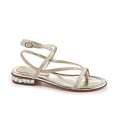 Donald J Pliner Corin Flat Sandals #Dillards