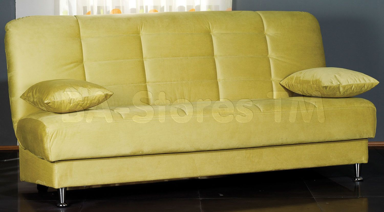 Modern Furniture Vegas vegas convertible sofa sleeper in rainbow greenistikbal | sofa
