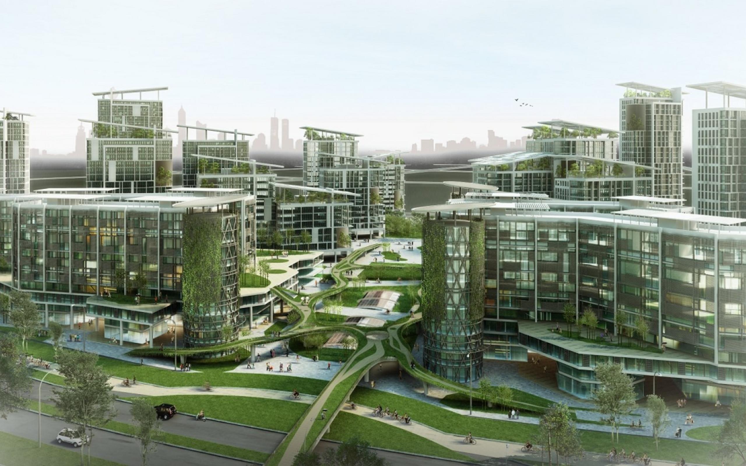 Tianjin Eco City Is Truely Futuristic