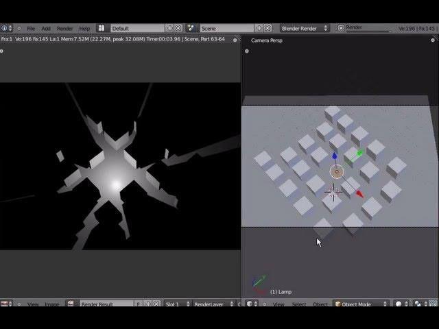 Tutorial Blender 3D 2.5 - Corso di base - 29: proprietà oggetti Lamps attenuazione luminosa - #BasiModellazioneEAnimazione #Blender #Blender3D25 #CorsoBlender #InterfacciaGrafica #LezioniBlender #Redbaron85 #Videotutorial http://wp.me/p7r4xK-bY