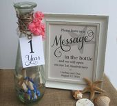 Items similar to Wedding Guest Book Beach Message In The Bottle Beach Wedding Starfish Background Alternative Guest Book Table Sign NO Frame 8x10 on Etsy wedding quotes I...