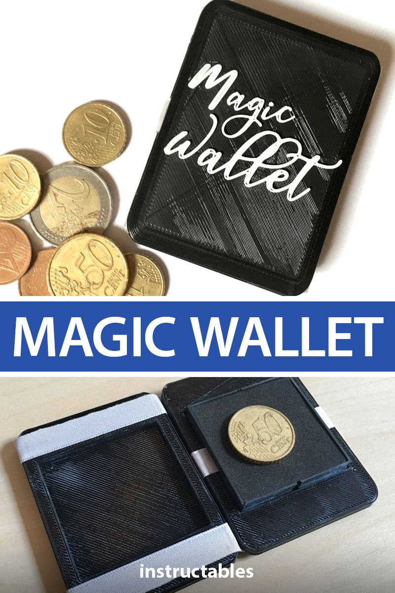 Real Magic Wallet Magic wallet, Wallet, Hand tricks