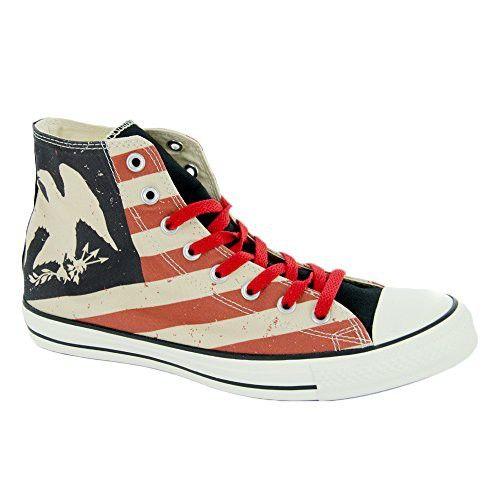 340ca31916c4 Converse Chuck Taylor All Star Americana Print Hi Shoes