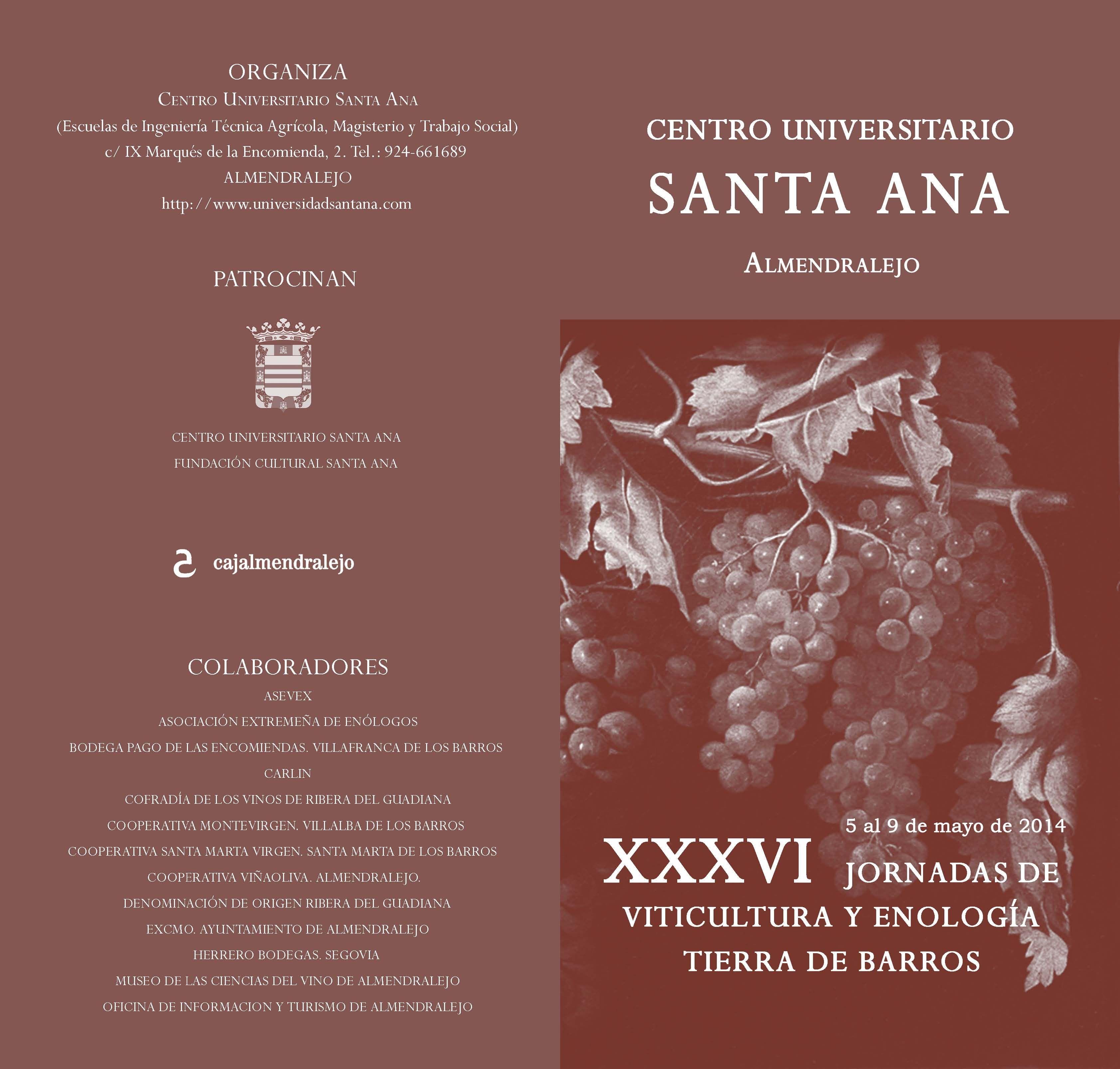 Jornadas de Viticultura y enología Tierra de Barros #formación #cultura #Badajoz #Extremadura #vino