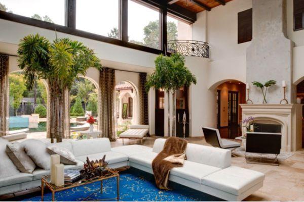 10 High Ceiling Living Room Design Ideas  High Ceiling Living Enchanting High Ceiling Living Room Designs Design Inspiration