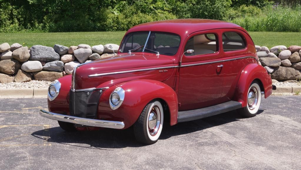 This 1940 #Ford Deluxe Coupe is available over on #HotRodHotline ...