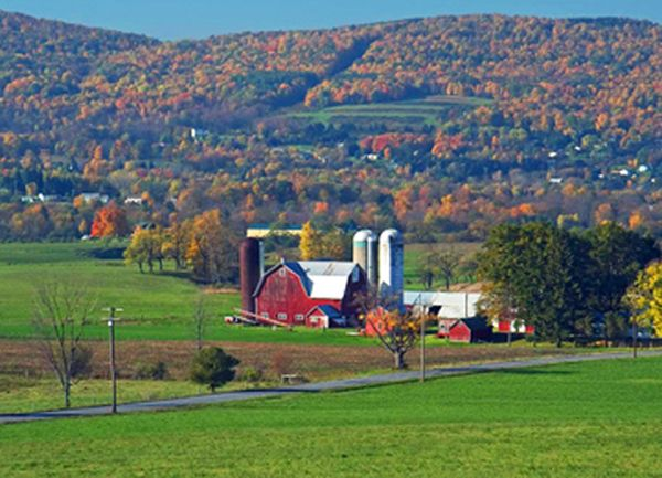 old barns new york state - Google Search