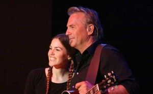 Actor Kevin Costner And Daughter Lily Costner At Rocking Gods House Kevin Costner Talks About His Band Modern West Kevin Costner Him Band Celebrity Interview