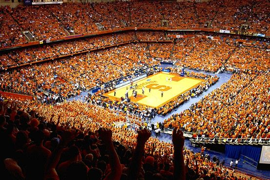 The Carrier Dome Syracuse Basketball Syracuse University