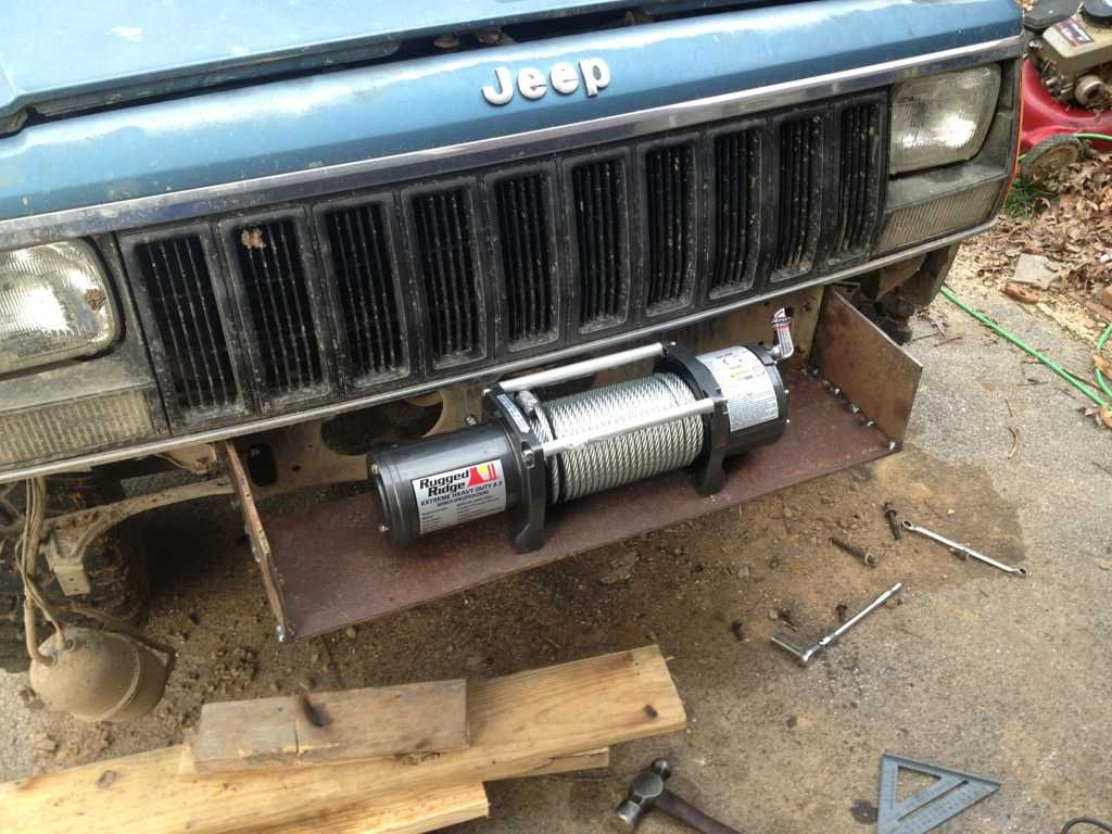 Click The Image To Open In Full Size Winch Bumpers Jeep Winch