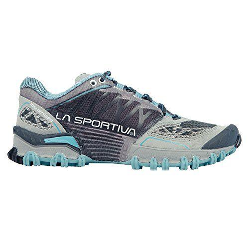 La Sportiva Bushido Womens Women's Trail Running Shoes Shoe Ice Blue Grey  395 >>>