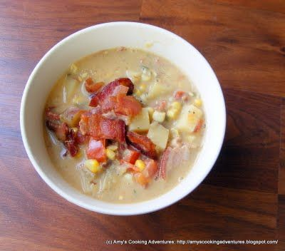 Amy's Cooking Adventures: Squash & Corn Chowder
