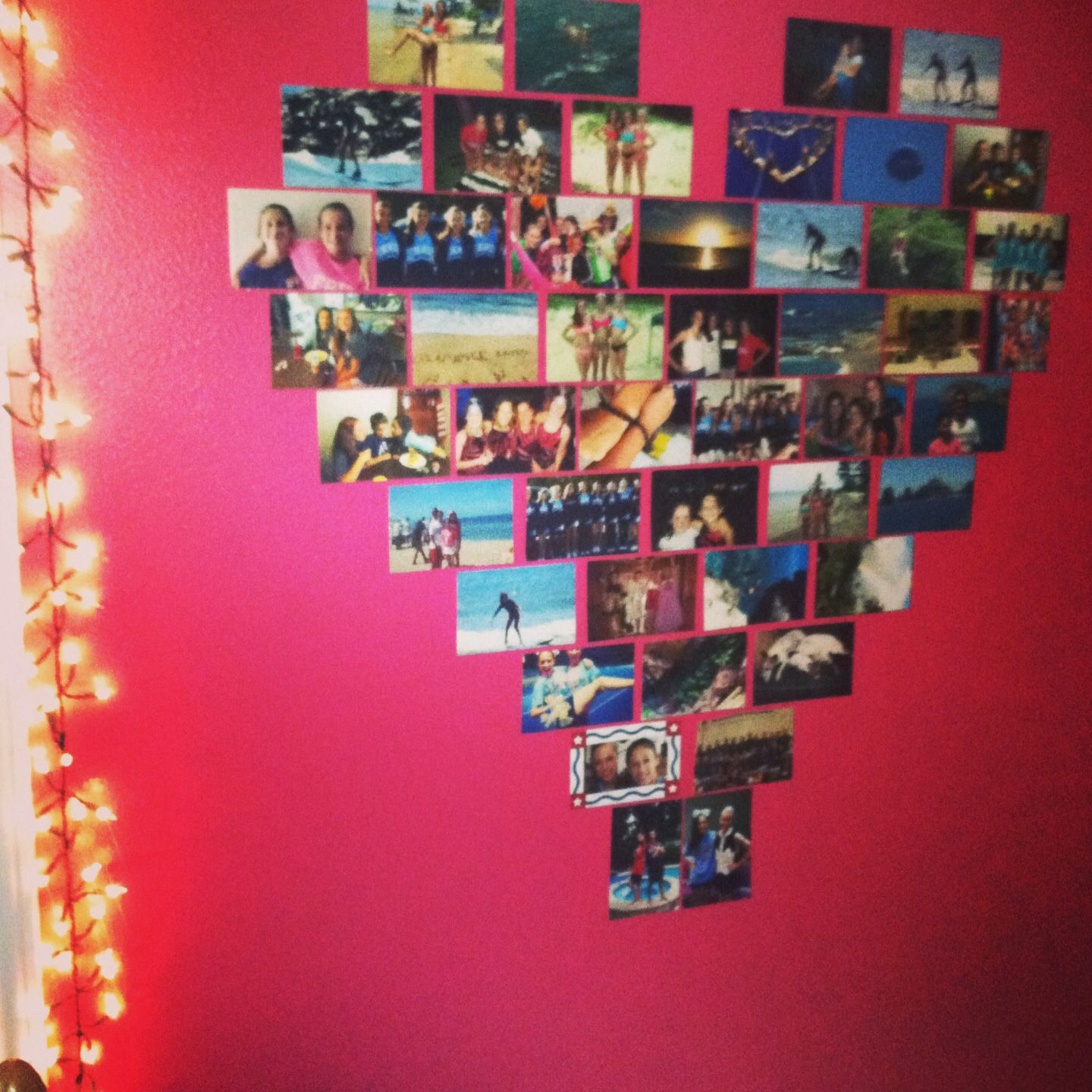 Ideas Originales Para El Hogar Room Picture Heart Diy Room Decor Diy Room Cosas Para