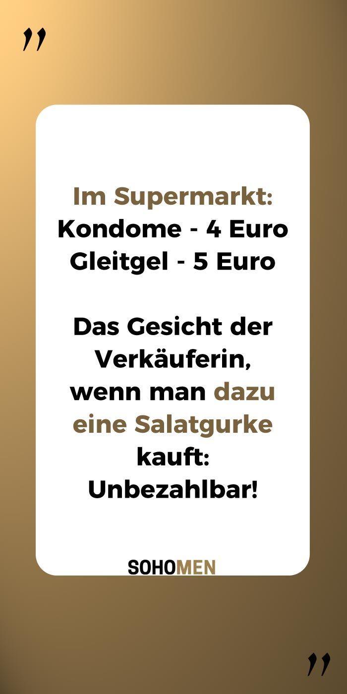 Lustige Spruche Lustig Witzig Funny Im Supermarkt Kondome 4 Euro
