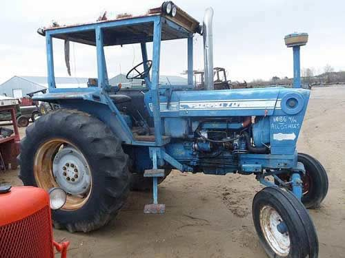 Ford 7000 Tractor Salvaged For Used Parts. Call 877-530