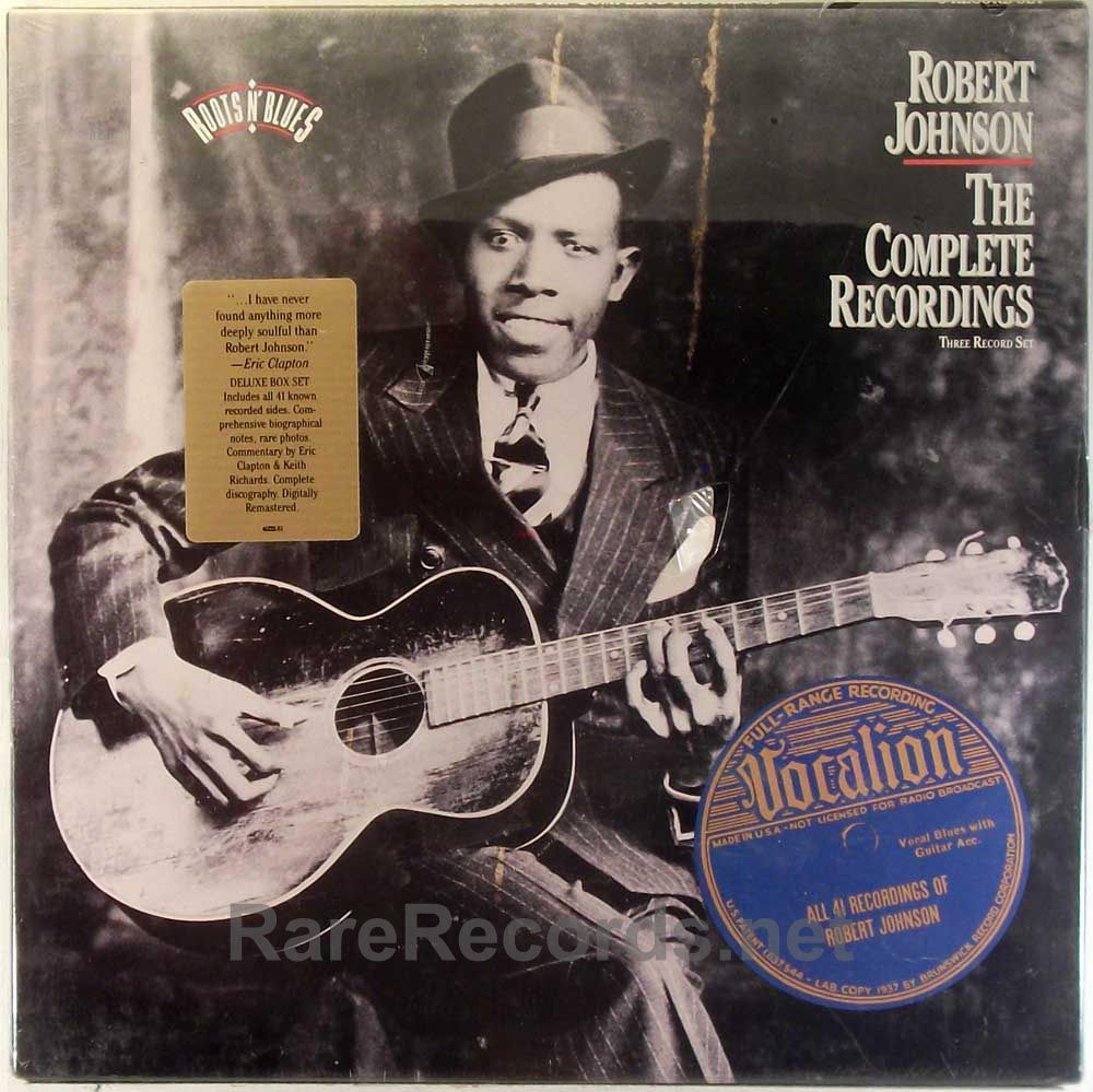 Robert Johnson The Complete Recordings Columbia Records 1990 Three Lp Set Contains All Of The Known Recording Robert Johnson Music Album Covers Neo Soul
