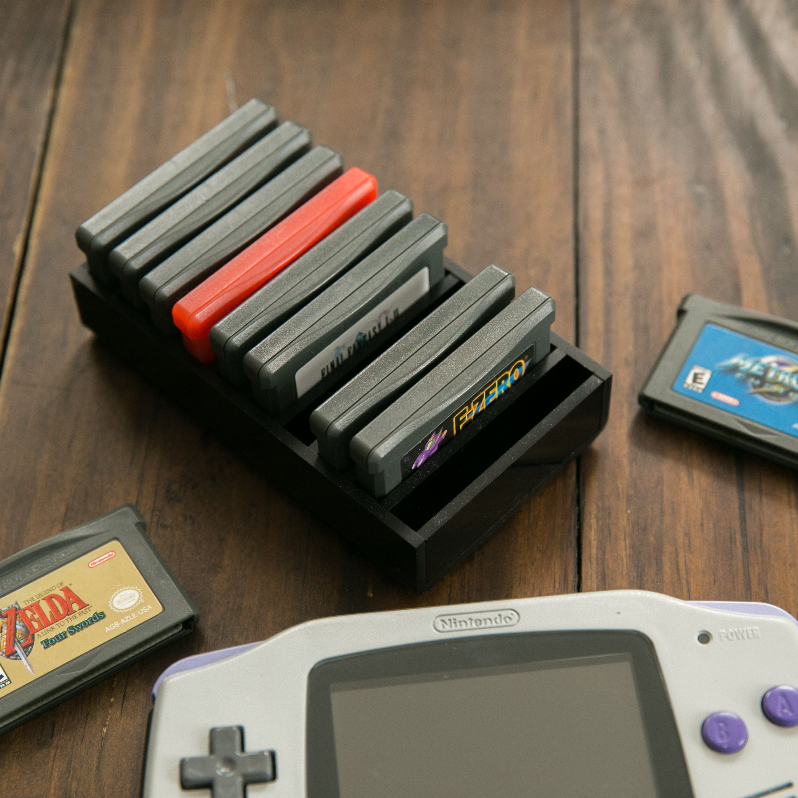 BitLounger GBBITN Storage for retro video games such as Nintendo Gameboy,  Gameboy Advance, Gameboy Color
