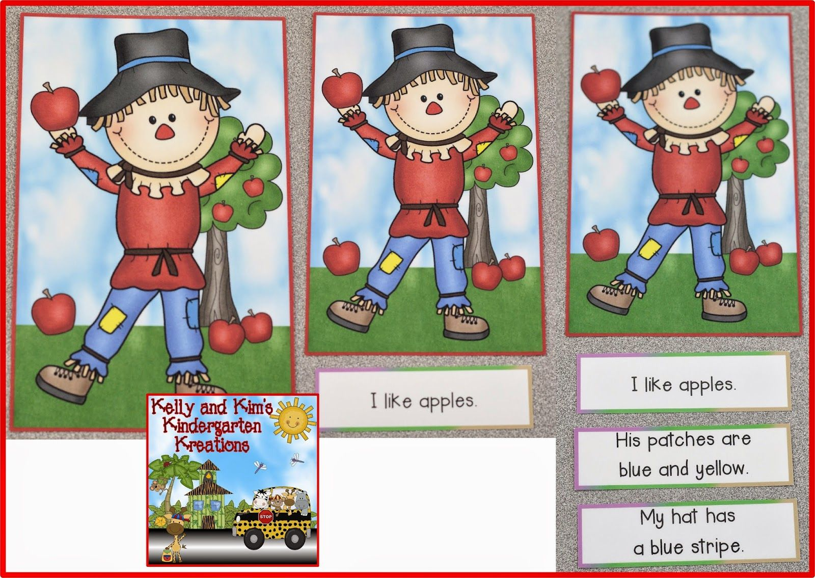 Scarecrow Sentences Early Readers Love Reading These
