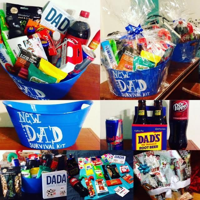 Growing with the Gordons: New Dad Survival Kit Gift for New Dads ...